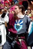 ратник поединка Стоковая Фотография RF