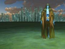 ратник робота Стоковые Фотографии RF