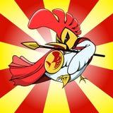 Ратник цыпленка Стоковая Фотография
