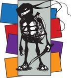 Ратник черепахи Стоковая Фотография RF