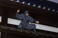 Ратник Ninjya, Япония стоковая фотография rf