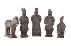 ратник terracotta стоковое фото