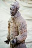 Ратник Terracotta стоковая фотография rf