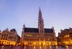Ратуша Брюсселя стоковое изображение rf