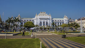 Ратуша в Янгоне Стоковая Фотография RF