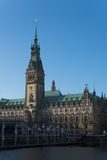 Ратуша Гамбург Стоковые Изображения