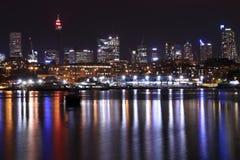 Ратуша городского пейзажа с холодным temperatur Стоковое Изображение
