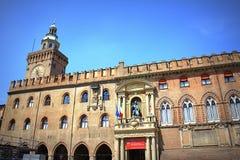 Ратуша Италия болонья стоковые фотографии rf