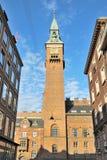 Ратуша Копенгагена Стоковое Изображение RF
