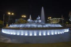 Ратуша Мадрида Стоковые Изображения