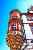 Ратуша ренессанса в Кобурге, Германии Стоковые Фото