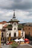 Ратуша Санта Celoni стоковая фотография