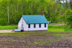 Ратуша Jessenland - Sibley County, Минесота стоковое фото rf
