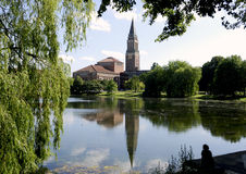 Ратуша Kiel/Германии. Стоковые Фото