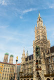 Ратуша Marienplatz Munchen новая Стоковые Фотографии RF