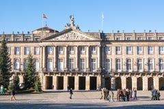 Ратуша Santiago de Compostela Стоковая Фотография RF