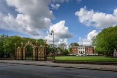 Ратуша Warrington (Англия): Стоковое Изображение