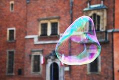 Ратуша Wroclaw пузыря мыла Стоковые Изображения RF
