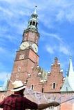 Ратуша Wroclaw Стоковое Изображение