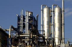 рафинадный завод газа Стоковое Изображение RF