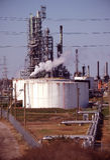 рафинадный завод 3 комплексов Стоковое фото RF