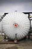 рафинировка масла газовых промышленностей Стоковые Изображения RF
