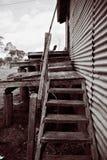 рахитичные лестницы Стоковое Фото
