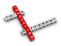 Рационализаторство - думайте различная бесплатная иллюстрация