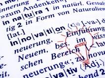 рационализаторство словаря стоковые изображения rf