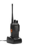 Рация портативного радио на зарядной станции Стоковые Фотографии RF