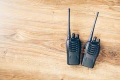 Рация портативных радио Стоковое фото RF