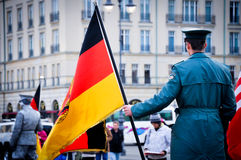 Радетель Берлина в форме Стоковое Изображение RF