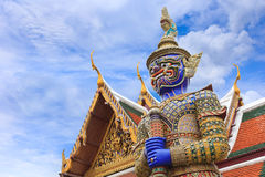 Радетель демона на Wat Phra Стоковое Изображение RF