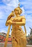 Радетель демона на Wat Phra Kaew Стоковая Фотография