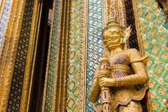 Радетель демона на Wat Phra Kaew Стоковое Фото