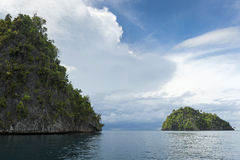 Раджа Ampat, западная Папуа, Индонезия Стоковое Изображение