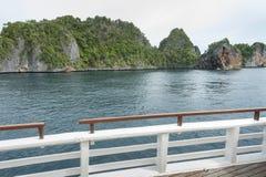 Раджа Ampat, западная Папуа, Индонезия Стоковое Изображение RF