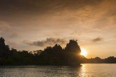Раджа Ampat, западная Папуа, Индонезия Стоковое Фото