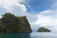 Раджа Ampat, западная Папуа, Индонезия Стоковые Фото