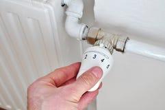 Радиатор термостата Стоковое Фото