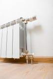 Радиатор топления дома Стоковое фото RF