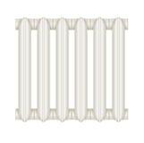 Радиатор чугуна для систем отопления Стоковые Изображения