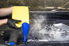 Радиатор Overheater Стоковые Фотографии RF