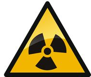 радиация Стоковая Фотография