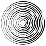 Радиальные линии с вращая искажением Абстрактная спираль, вортекс s иллюстрация штока