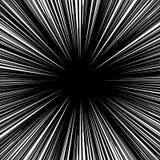 Радиальные линии элемент Абстрактная геометрическая иллюстрация излучать иллюстрация вектора