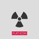 Радиоактивная икона Стоковое фото RF