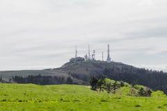 Радиовышка и красивый взгляд ландшафта Utsukushigahara Стоковые Фото