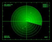 радиолокатор Стоковая Фотография