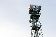 Радиосвязи антенны в Италии Стоковое Изображение